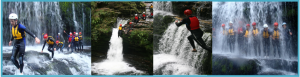 Canyoning in The Neath Valley