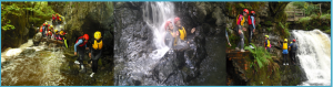 Canyoning & Gorge Walking in the Celtic Rain Forest